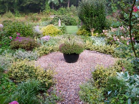Pea Gravel Garden Pea Gravel And Plants Garden