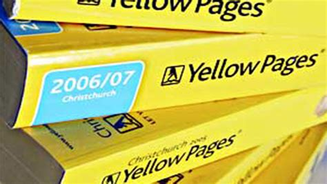 Yahoo Yellow Pages Search The Evolution Of Discover Ability From Yellow Pages To Digital Pages