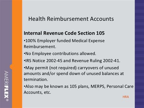 irs code section 105 colonial life and accident broker presentation 1011