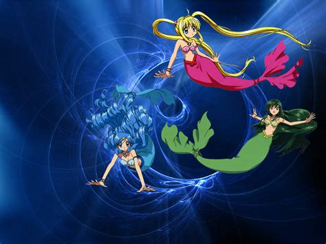 wallpaper sfondi  anime manga mermaid melody