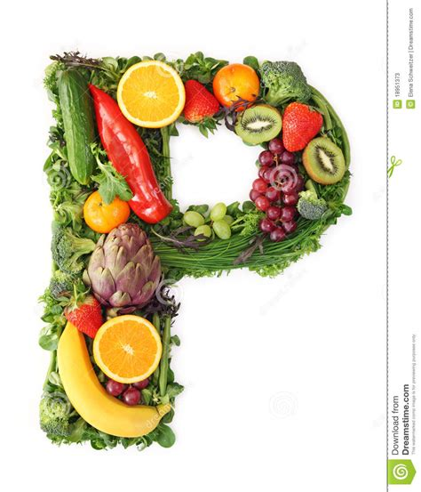 vegetables 10 letters fruit and vegetable alphabet stock image image 18951373