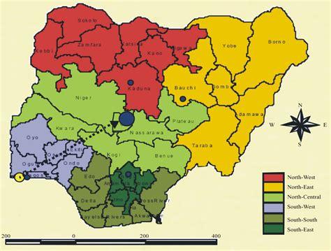 map of nigeria with states nigeria should abolish 36 states adopt six geo political