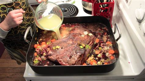 braising venison shoulder for christmas dinner how to