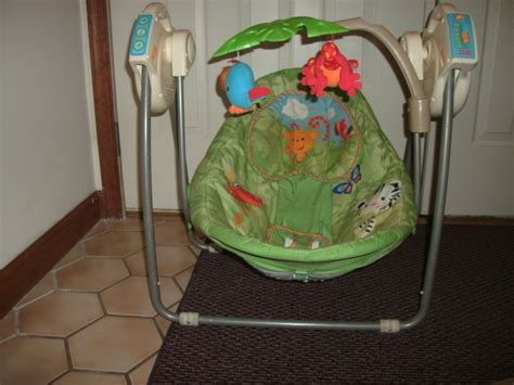 Baby Swing Jungle Theme Free A Jungle Themed Baby Swing Other Baby Items