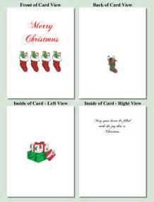 stockings design free printable christmas cards