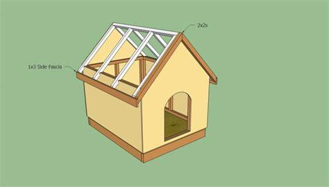 free slant roof dog house plans free slant roof dog house plans