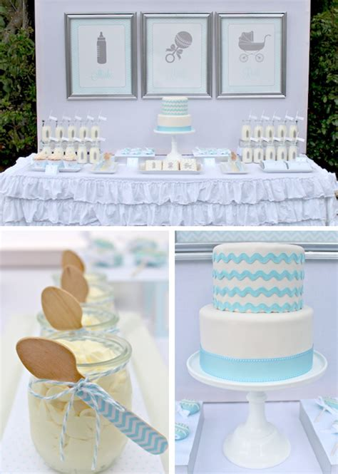 Theme For Baby Shower Boy by Blue Baby Shower Theme Apartment Design Ideas