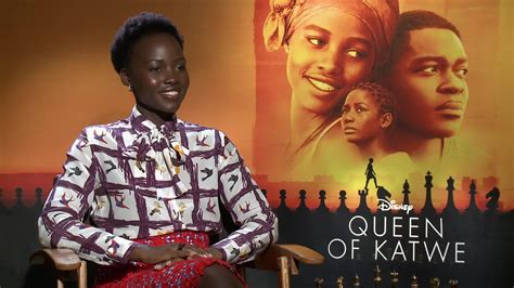 the queen of katwe film lupita nyong o queen of katwe interview 2016 movie