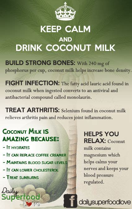 supplement until milk comes in keep calm and drink coconut milk health