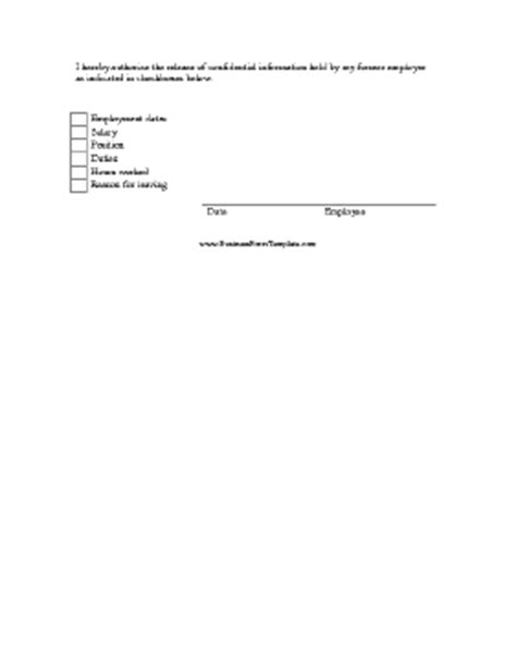 consent for release of information template consent to release personnel information template