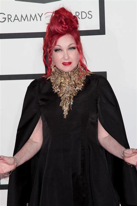 Grammy Awards Cyndi Lauper by Cyndi Lauper At 2014 Grammy Awards In Los Angeles Hawtcelebs