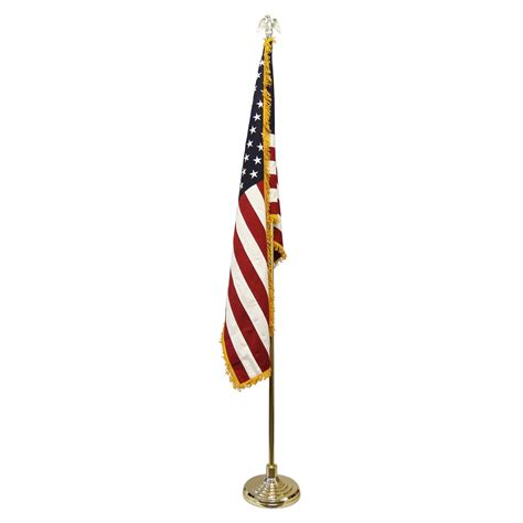 l post l indoor low cost indoor flag and pole kit