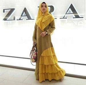 Pakaian Gamis Muslimah Baju Muslim Style Setelan Celana Kulot Model Terbaru