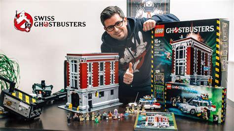 Lego 75827 Firehouse Headquarters lego ghostbusters firehouse headquarters 75827 build and