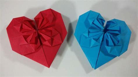 tutorial origami corazon m 225 s de 1000 ideas sobre corazones de origami en pinterest