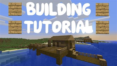 minecraft dog on boat minecraft building tutorial part 6 cool boat dock