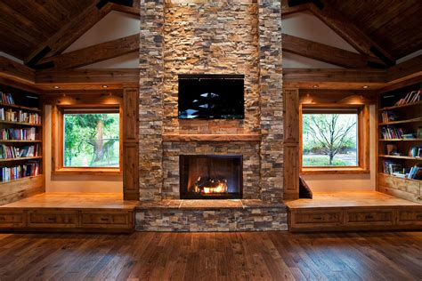 Log Home Interior Photos by Modern Rustic Interiors Modern Log Cabin Interior Modern