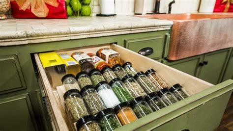 diy spice rack drawer how to diy spice drawer hallmark channel