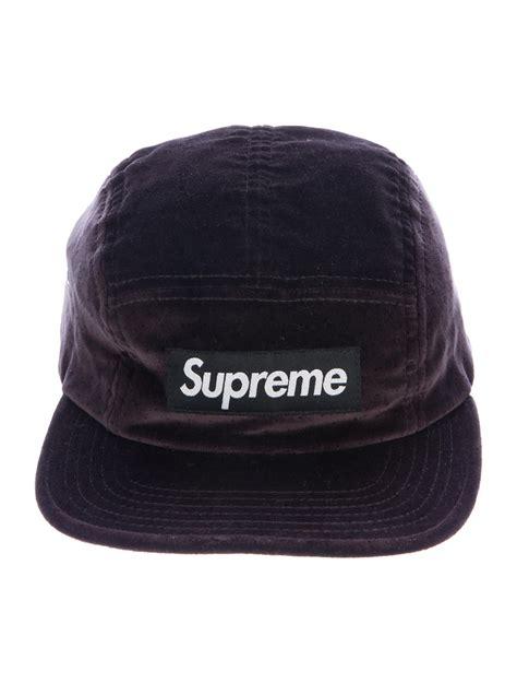 supreme hat supreme velvet logo hat accessories wspme20277 the