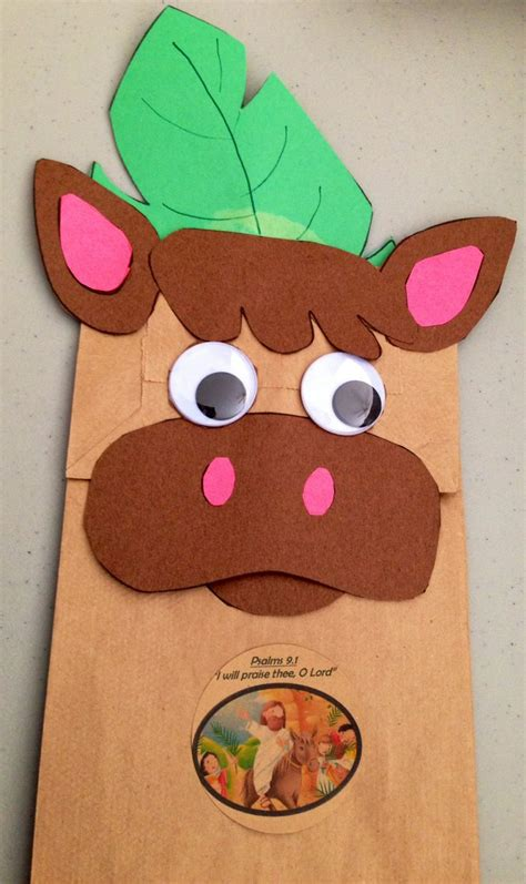 paper bag donkey pattern 17 best images about vbs on pinterest activities farm