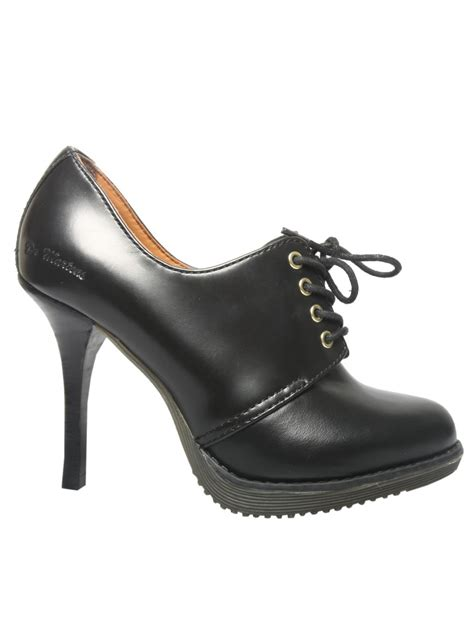 dr martens high heels dr martens ofira shoe black in black lyst