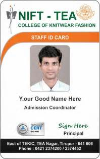 College Id Card Template by Template Galleries New Student And Staff Id Card Template