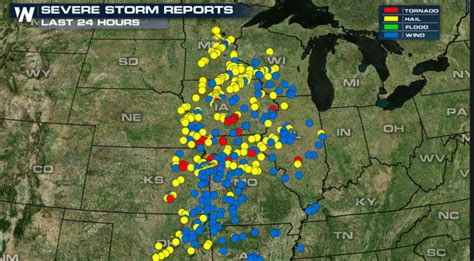 Records In Minnesota Earliest Tornadoes On Record In Minnesota Monday Weathernation