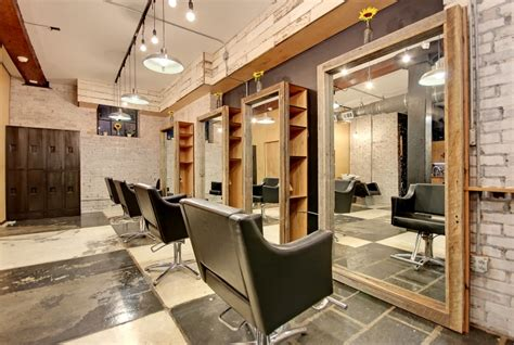 Salon Industriel Design by Gibson Hair Makeup Salon By Gibson Concepts Design