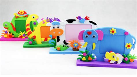 Handmade Educational Toys - handmade photo frame diy 3d stickers