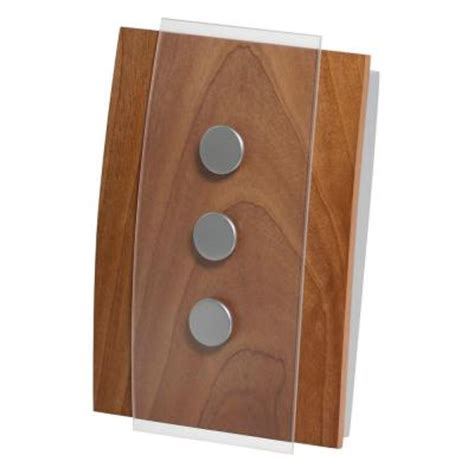 honeywell decor design wired door chime rcw3503n the