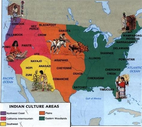 map us indian tribes american tribe map showing tribes and where they