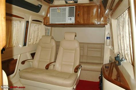 Tempo Traveller Interior Design by Tempo Traveller Test Drive Page 3 Team Bhp
