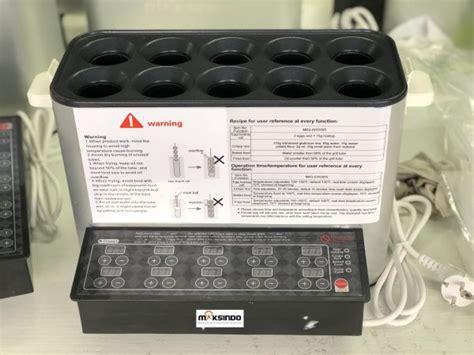 Biasa 4in1 jual mesin egg roll sosis telur snack maker 4in1 listrik di tangerang toko mesin maksindo bsd