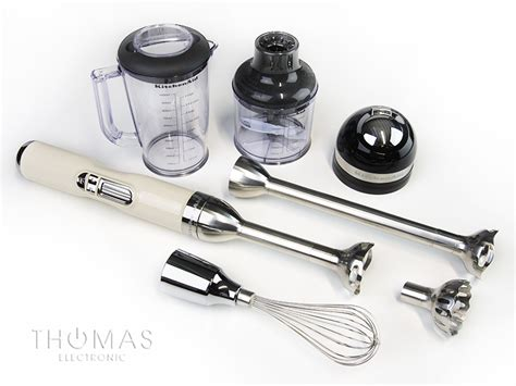 KitchenAid Akku Stabmixer 5KHB3581 creme   Thomas