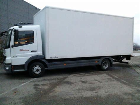 Führerschein Klasse C Wieviel Tonnen by Mercedes Benz Atego 816 7 49 T Koffer Transporter Mieten