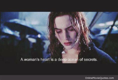 titanic film love quotes deep ocean of secrets movie quote from titanic see