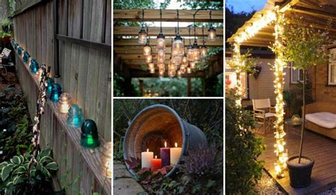 28 homemade decorations for summer diy outdoor decor and prime 28 suggestions adding diy backyard lighting for