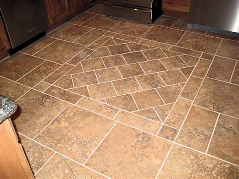 tiling patterns kitchen: kitchen floor tile on bailey road ak britton construction llc