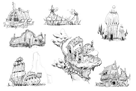 http www jesusninoc com 2014 10 11 drawing two houses blizzcon and fantasy world sketches tim guo design