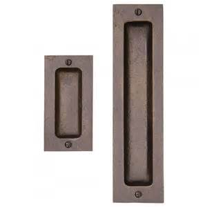 Door Pulls Solid Bronze Rectangular Pocket Door Pull Hardware