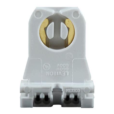 T8 L Sockets by Leviton 13351 T8 Or T12 Bi Pin Socket Turn Type