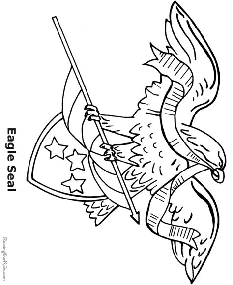 american flag and eagle coloring page eagle coloring pages for kids az coloring pages