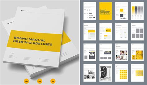 How To Design A New Brand Identity For Your Business Brand Manual Template