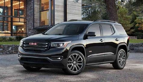 2020 gmc acadia length 2017 gmc acadia decreases in size to offer 7 seating