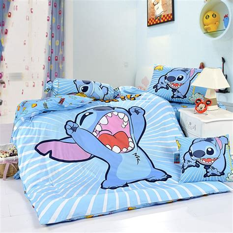 disney bedding stitch sky blue disney bedding sets disney bedding