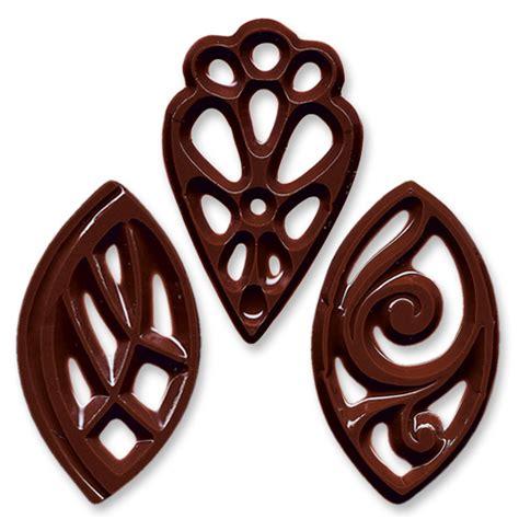 Chocolate Filigree Templates by G 252 Nthart Tortendekoration Geschenkartikel Schokoladen