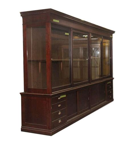 large mahogany display cabinet for sale at 1stdibs