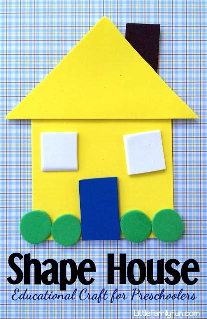 kindergarten activities my house fun and educational craft for preschoolers create a house
