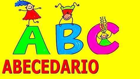 imagenes en ingles del abecedario el abecedario espa 241 ol videos educativos para ni 241 os