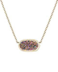 Elisa pendant necklace in multi color from kendra scott jewlery